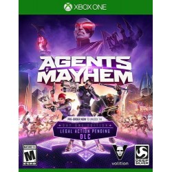 Agents Of Mayhem – Xbox One...